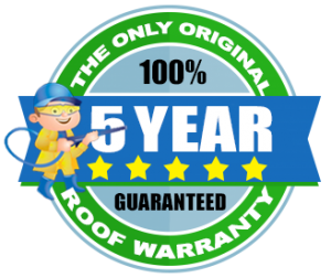 Medford Roof Cleaning 5 Year Warranty Diamond
