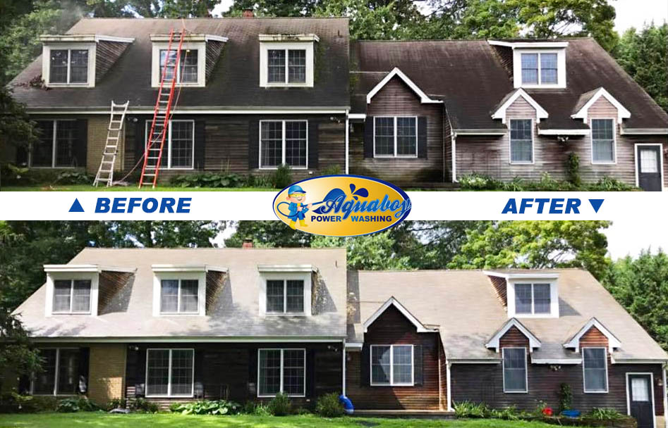 Affordable Power Washing Moorestown Aqua Boy Roof Cleaning