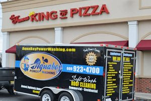 Cherry Hill House Soft Washing King of Pizza