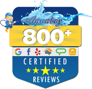 Aqua Boy has 800 Reviews in Voorhees