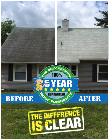 Find Roof Cleaning in Cherry Hill Aqua Boy Soft Washing