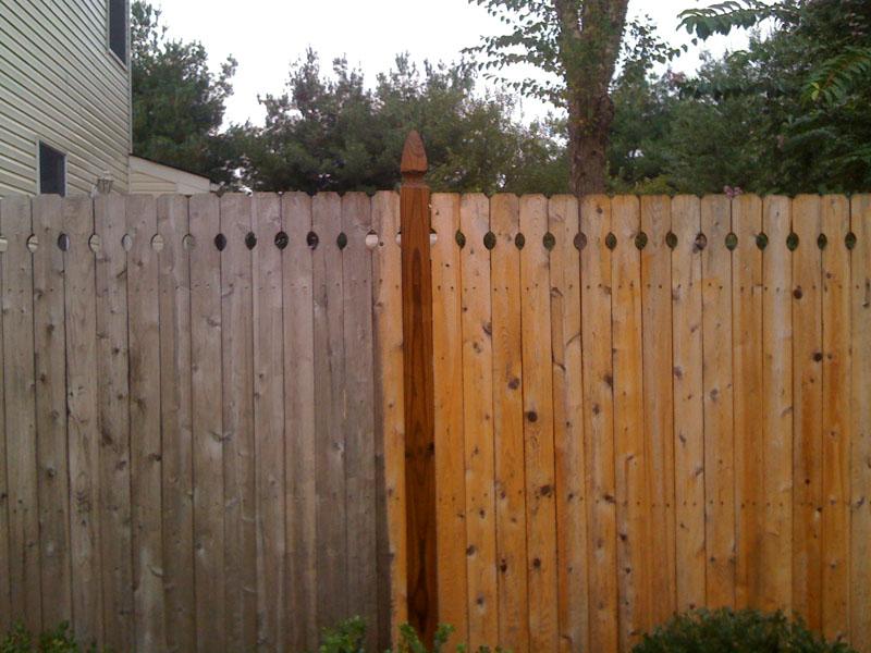 Fence Cleaning South Jersey - Aqua Boy Powerwashing
