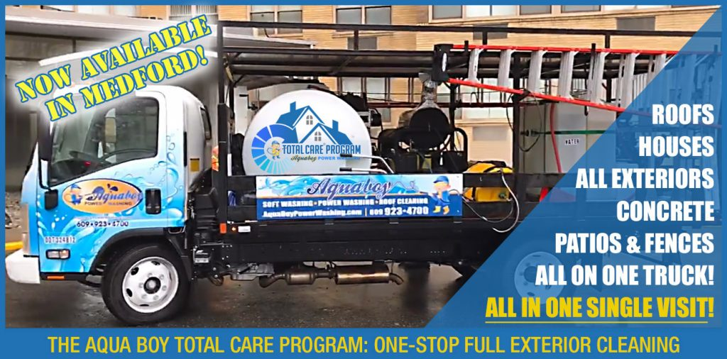 Local Power Washing In Medford The Total Care Program