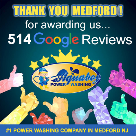 Local Power Washing in Medford Google Reviews