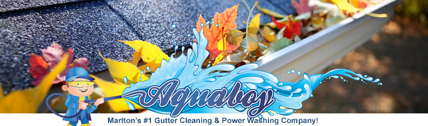 Marlton NJ Gutter Cleaning For Flowing Gutters