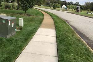 Medford Concrete Sidewalk Cleaning