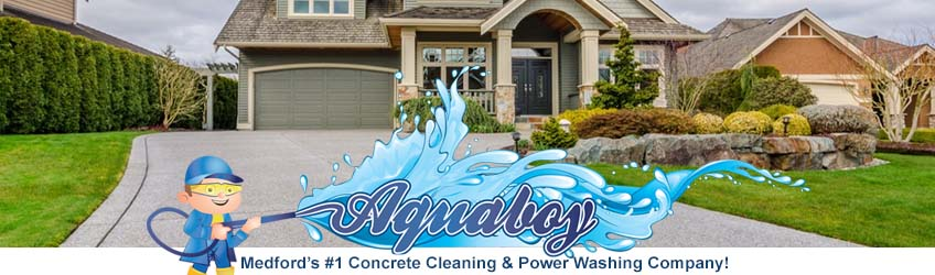 Medford Concrete Cleaning