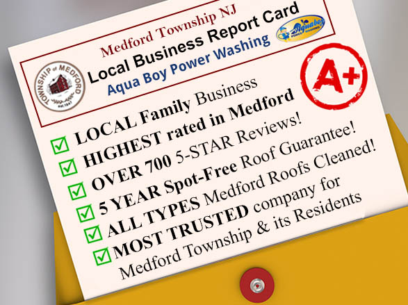 Medford Local Power Washing Report Card
