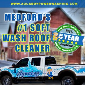 Medford soft washing company
