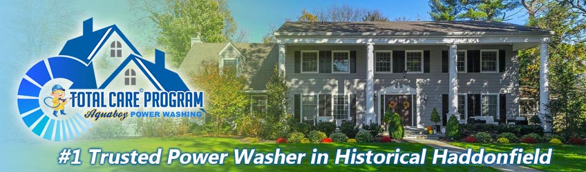 Power Washing Historical Haddonfield