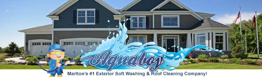 Power Washing Marlton with Aqua Boy