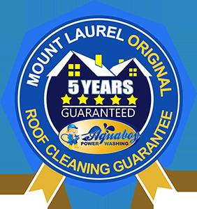 Power Washing Mount Laurel Roof Guarantee
