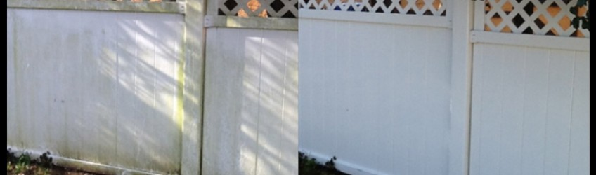 Vinyl Fence Cleaning