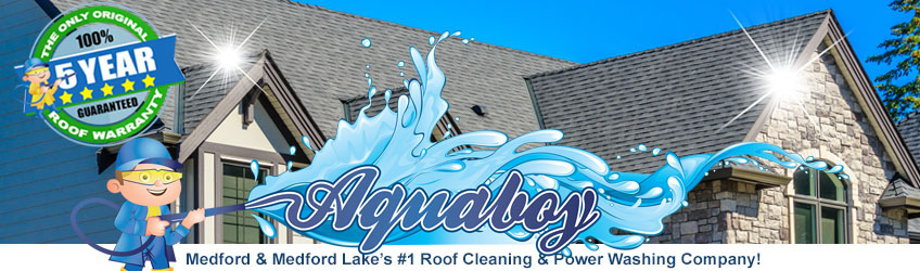 Medford Roof Cleaning – Soft Wash Your Roof